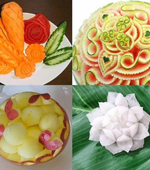 野菜&フルーツカービング